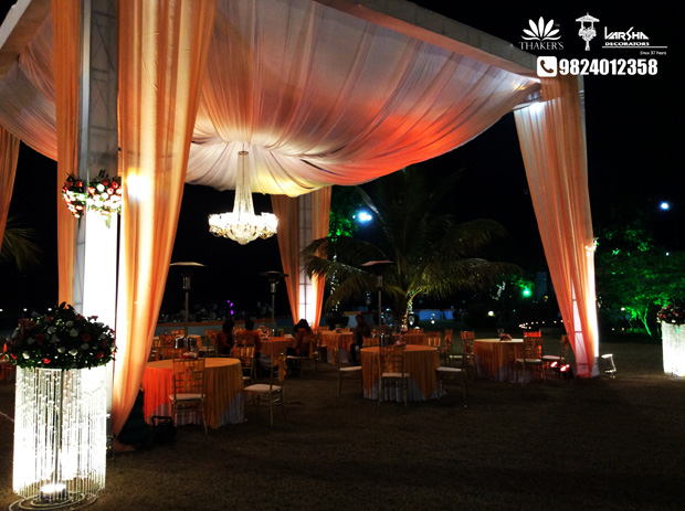 Book your Elegant Reception with Varsha Decorators