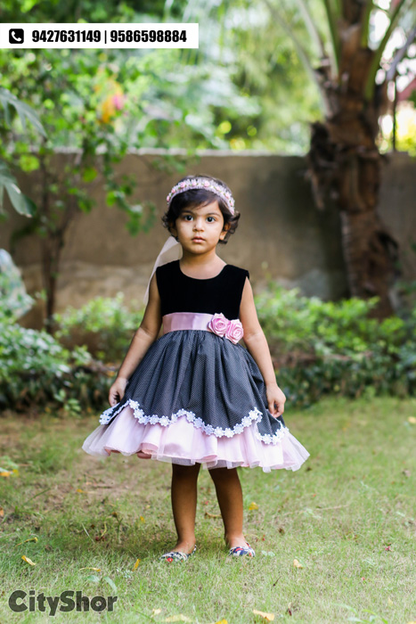 Dainty dresses and accessories for young girls