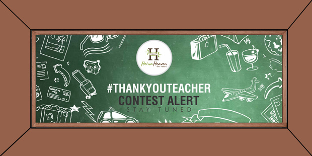 Acknowledge your teacher to win an irresistible Prize!