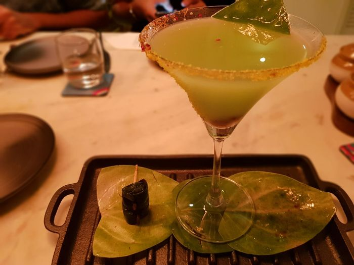 Mughlai Cuisine, Blazing Pan Cocktail Just at Basanti & Co.