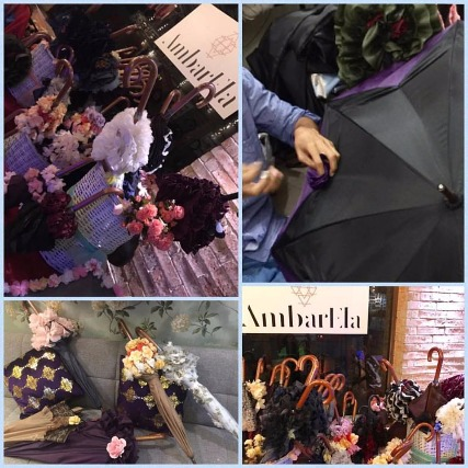 Bespoke Umbrellas for Seasonless Style by AmbarEla!