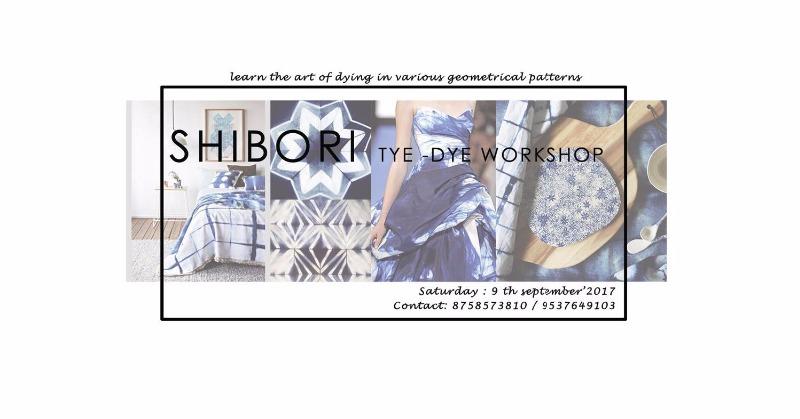 Grasp the Basics of Shibori Art on 9th September!