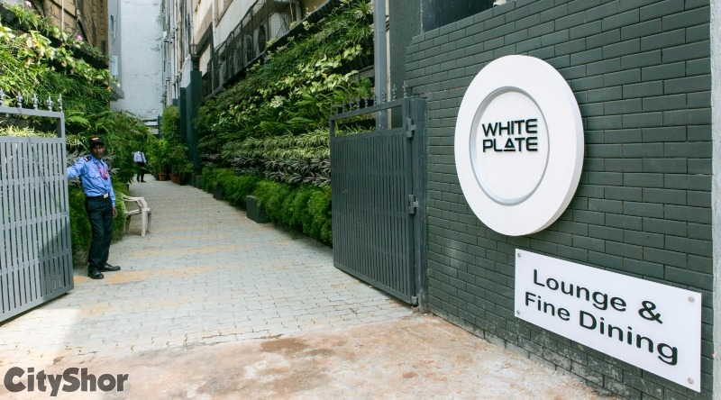 Dine MasterChef Quality Food at WHITE PLATE on MG Road