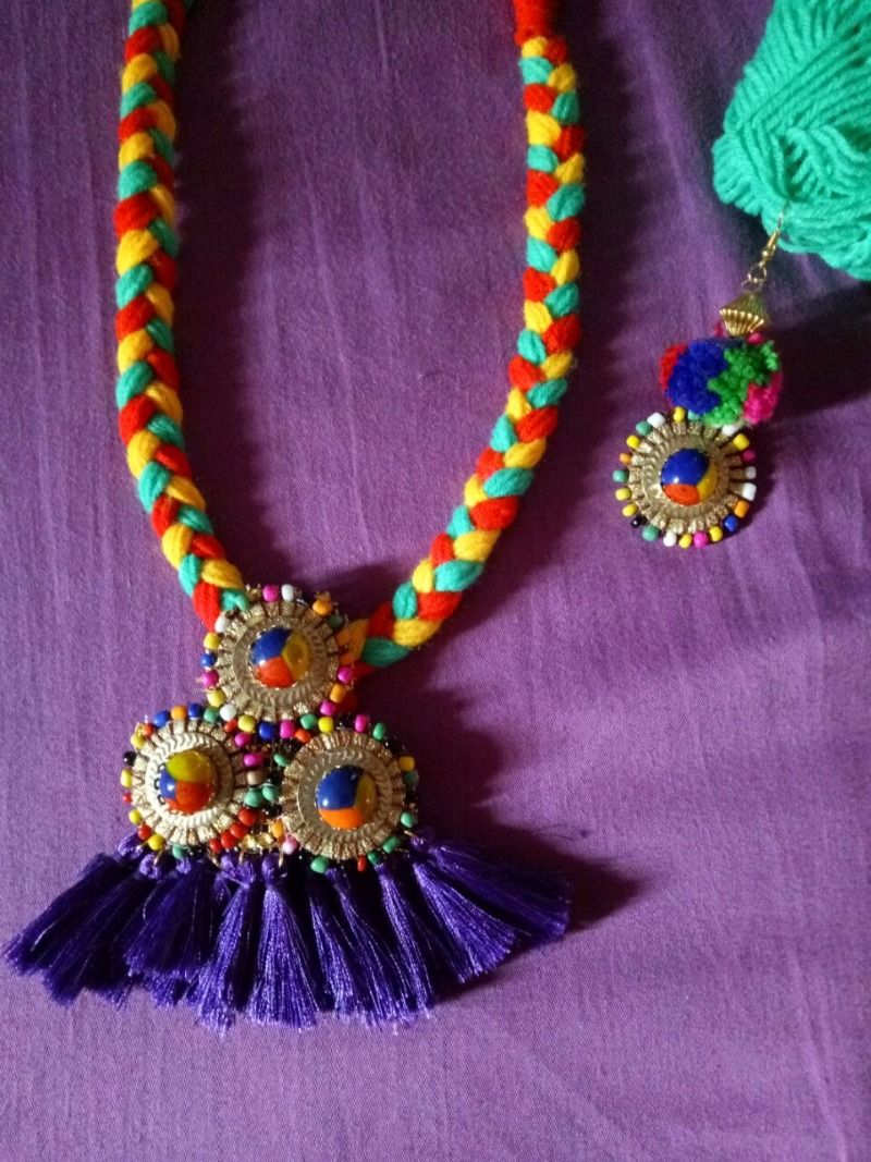baf956dd865 Create Funky Jewellery on Your Own this Navratri!