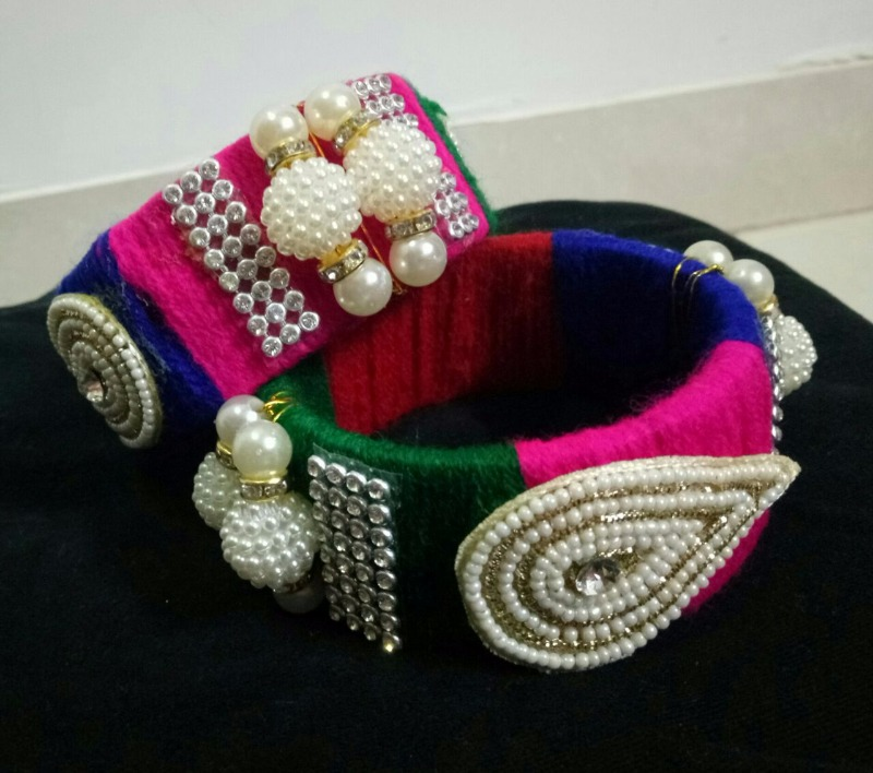 Create Funky Jewellery on Your Own this Navratri!