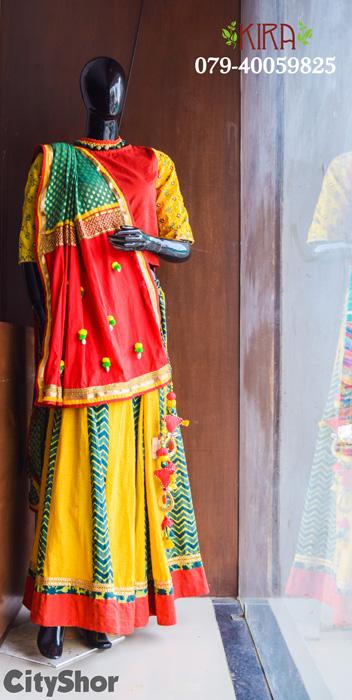Wear the Handmade Narratives this Navratri with Kira Ethnic!