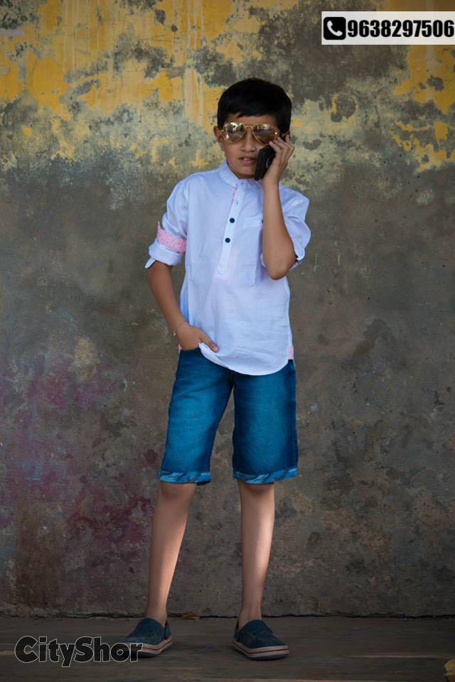Trendy, colourful & affordable festive fashion for li'l boys