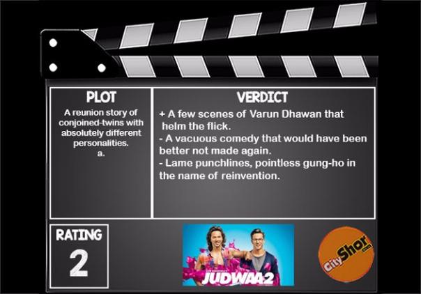 Movie Review - Judwaa 2