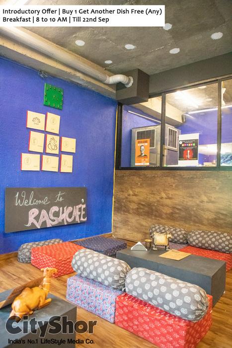 Go for a Brunch at 1st ever Yoga Cafe @ RashCafe