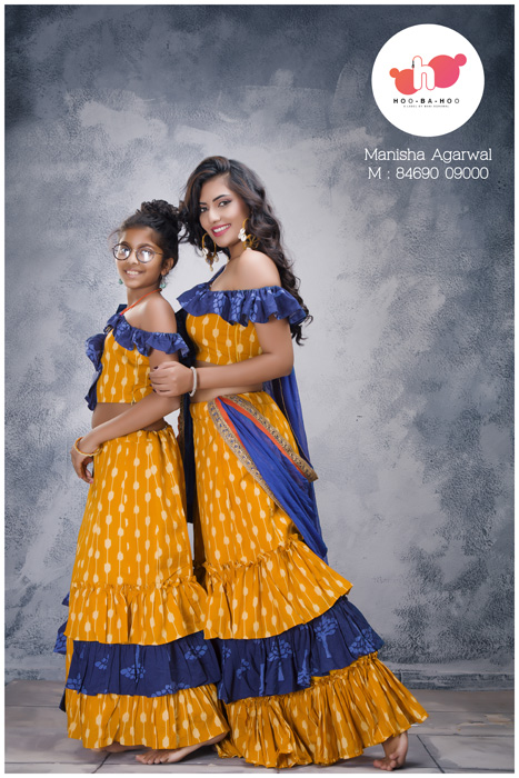 Exclusive Handcrafted Navratri Collection for the Mom & Kids