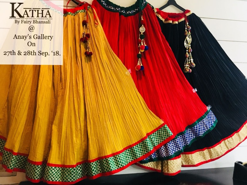 Exclusive Navratri Preview by Katha at Anay Gallery tomorrow
