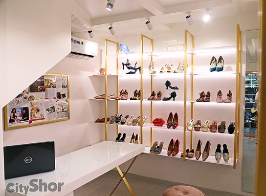 Shradha Hedau brings Custom Footwear Boutique To FC Road!