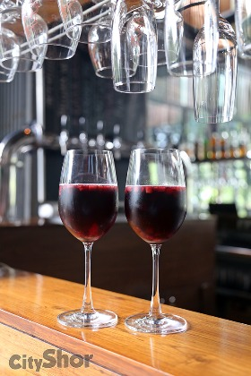 We love SANGRIA & it's ON TAP at Independence Brewing Co