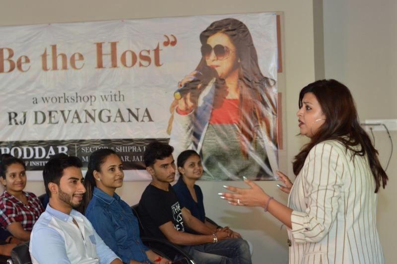 Workshop with RJ Devangana