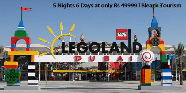 5D6N package to Dubai @ 49999 per person by Bleach tourism