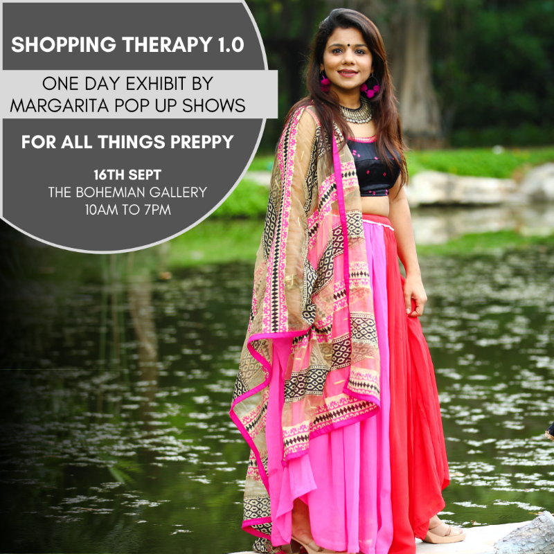 Shopping Therapy 1.0 by Margarita Pop up