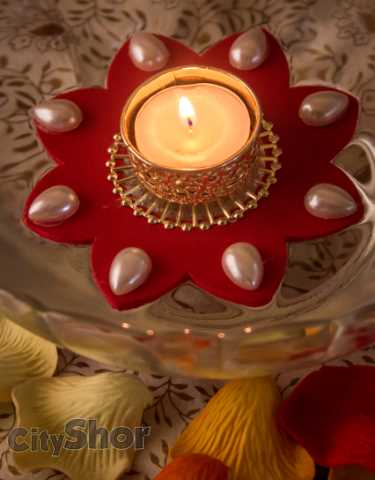 Custom-Made Crafted Candle-Holders By Ark Rana