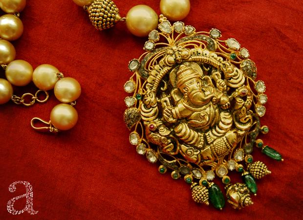 Festive Auspicious Jewellery at Amita Damani Design