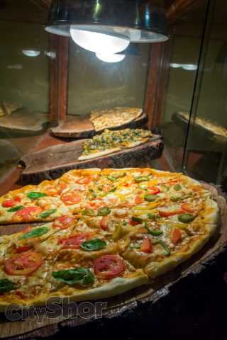 First time in Pune: Pizza served per slice at Largo Pizzeria