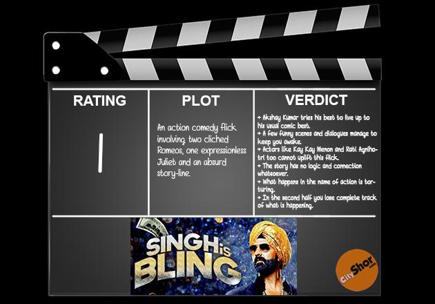 Movie Review - Singh is Bliing