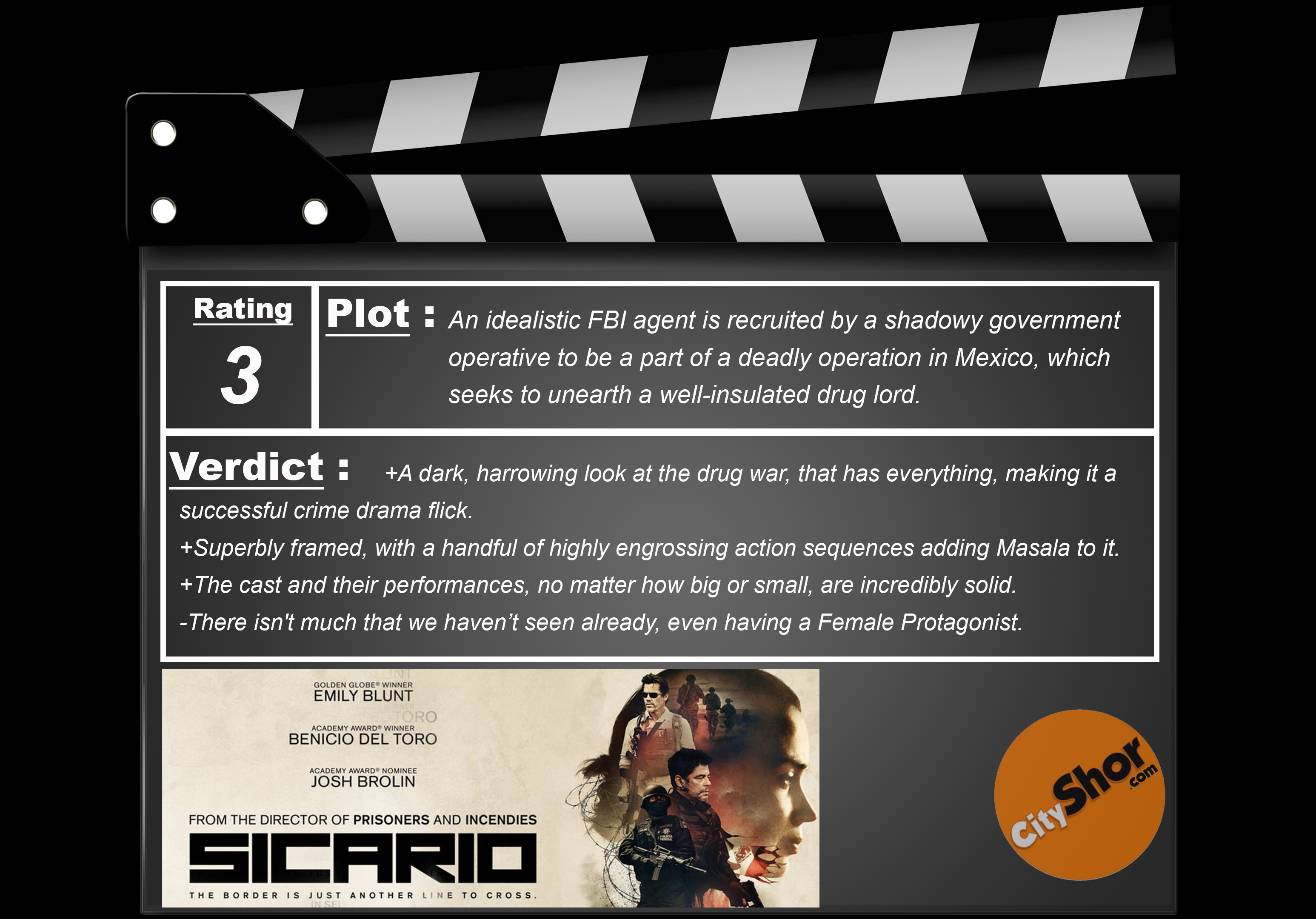 Movie Review - Sicario