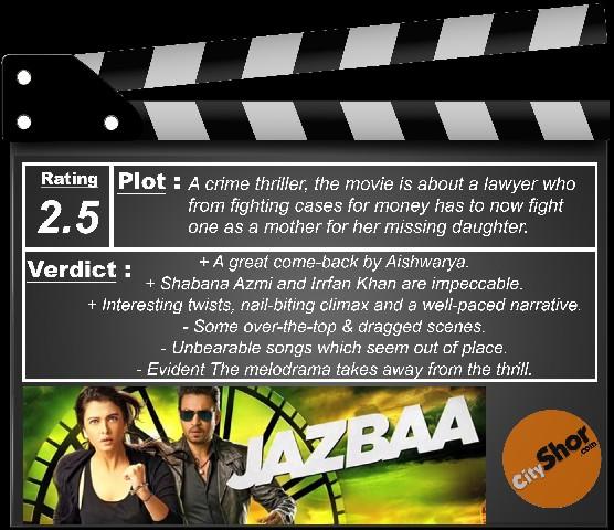 Movie Review - Jazbaa
