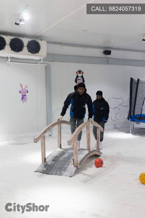 Experience Snow in the city at ICEBERG: Snow World