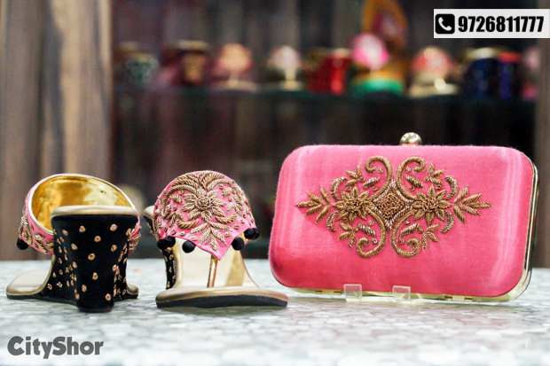 Customized Footwear, Clutches & more at BLINKK