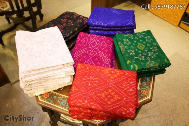 RAJSHRUNGAR brings forth gorgeous Bandhej & Patolas.
