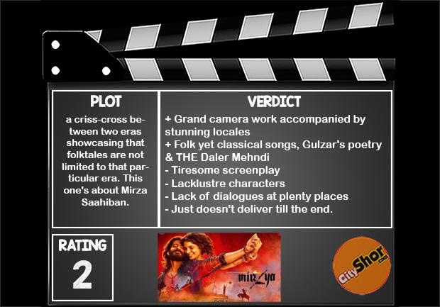 Mirzya: Movie Review