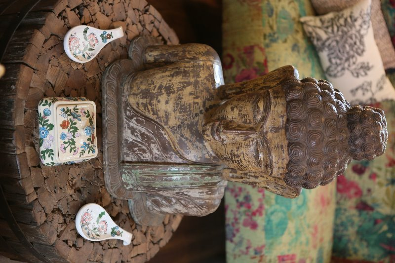 Vintage-inspired home decor pieces at The Purple Pony