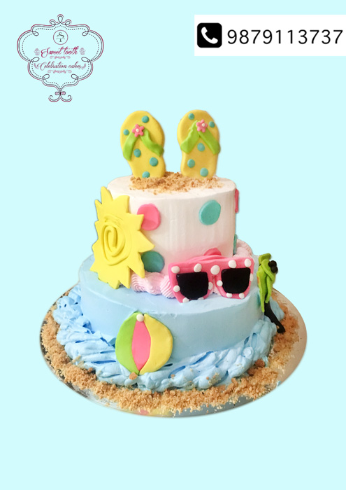 The Most Gorgeous Inviting Theme Cakes To Order In Surat