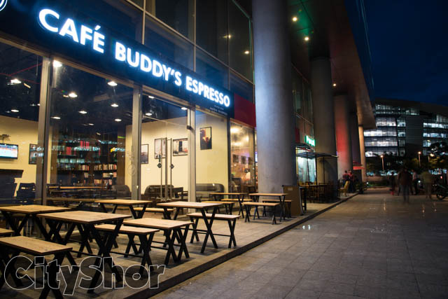 Coffee & Conversations with a View at Café Buddy's Espresso