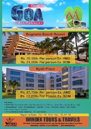 Get going to Goa, Sri Lanka with Windex Tours and Travels