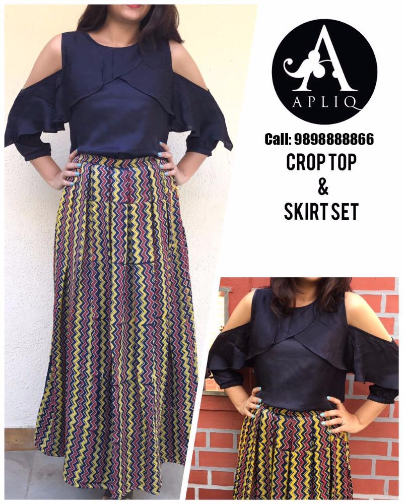 Trendy Festive attire by APLIQ at ANAY
