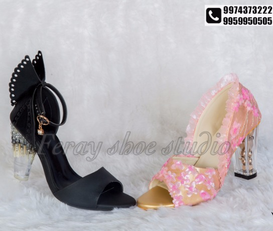 Put your best foot forward with bejewelled footwear by FERAY