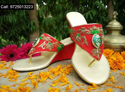 Magnificent bridal footwear by ENCHANTED