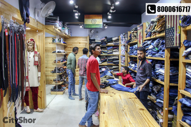 Pocket friendly attire for men and kids only at SHREE RAM NX