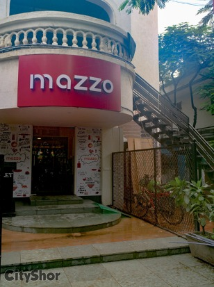 Mouth watering Vegetarian delicacies only @ MAZZO