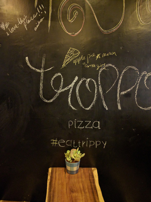Fresh pizza   Pet friendly   Homely ambience @ TROPPO