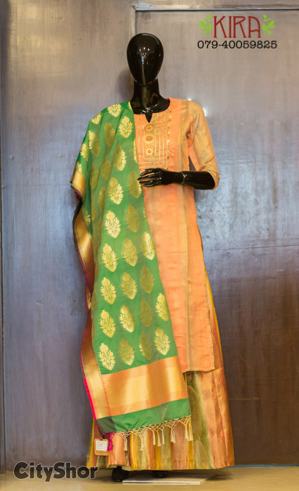 Celebrate the Festivities with Classy Looks from Kira Ethnic