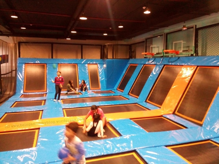 jump away your worries at adult trampoline park