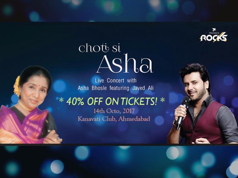 Asha Bhosle Live in Concert ft. Javed Ali Tonight!
