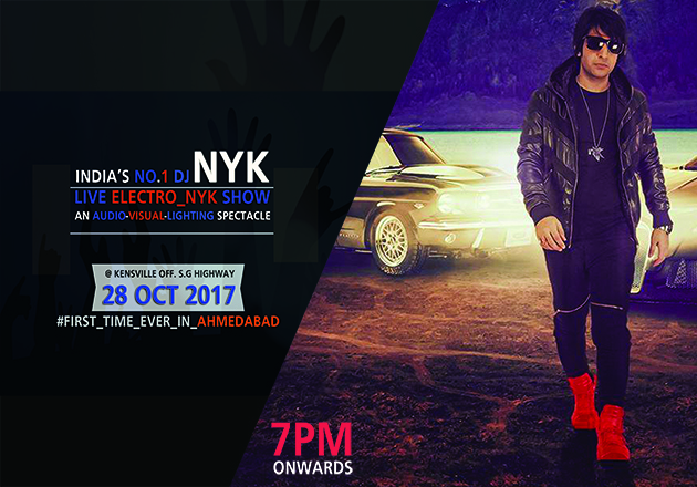Book your passes to City's 1st Ever Electro-NYK concert!