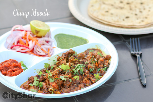 Non-veg lovers!This Chaap Masala @Tawa&More cannot be missed