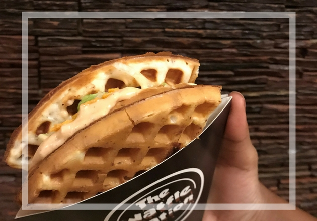 Hong Kong Style Egg Waffles to Munch at Waffle Nation