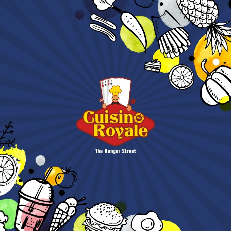 Book Stall @ 1st ever Casino themed food park Cuisino Royale