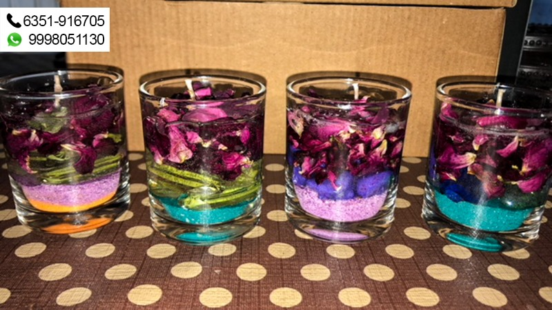 Enlighten your homes with Ruchis Handmade Candles