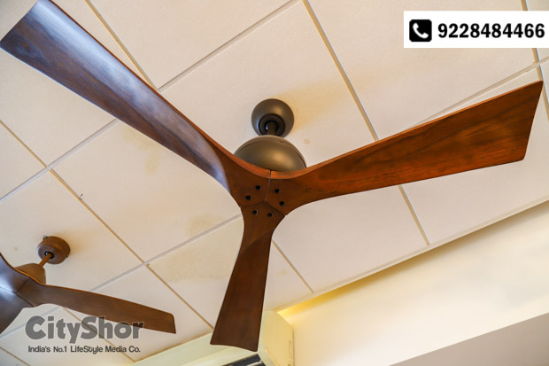 Rejig your living spaces with designer fans from Anemos!