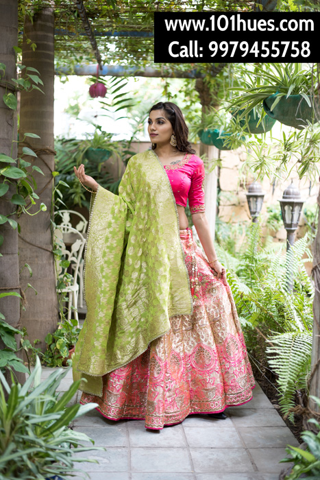 101 Hues - CUSTOM MADE INDIAN WEAR ON RENT!